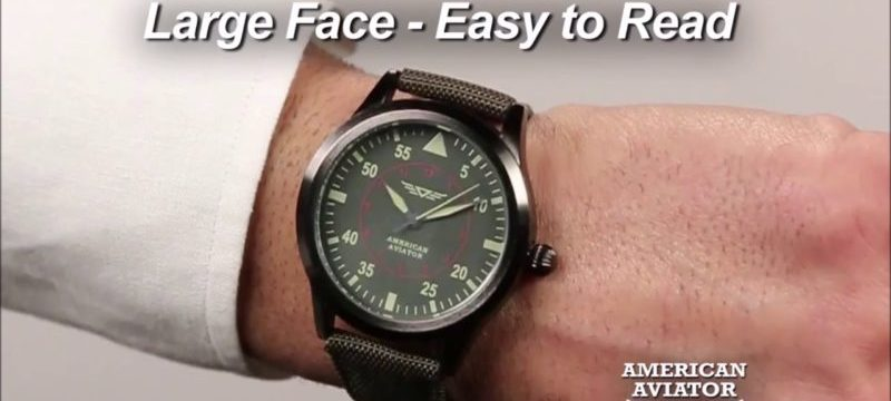 American Aviator Watch As Seen On TV